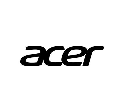 Logo Acer digital black